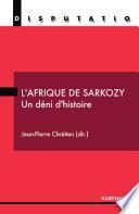L'Afrique de Sarkozy
