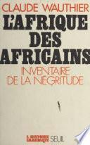 L'Afrique des Africains