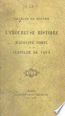 L'amoureuse histoire d'Auguste Comte et de Clotilde de Vaux