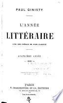 L'Année littéraire