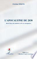 L'apocalypse de 2030