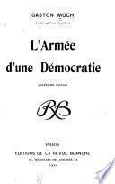 L'armée d'une démocratic