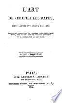 L'Art de vérifier les dates depuis l'année 1770 jusqu'à nos jours: 1824