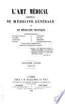 L'Art médical