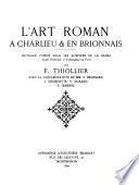 L'art roman à Charlieu & en Brionnais