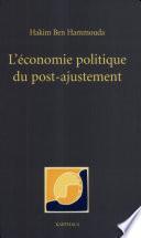 L'économie politique du post-ajustement