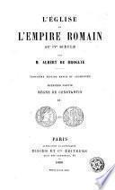L'Église dans l'Empire Romain au IVe siècle, 2