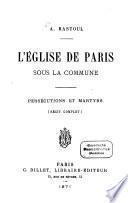 L'Église de Paris sous la Commune