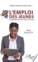 L'emploi des jeunes en République démocratique du Congo