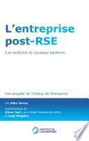 L'entreprise post-RSE