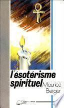 L'ésotérisme spirituel