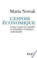 L'espoir économique