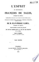 L'esprit du bien-heureux François de Sales