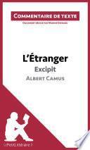 L'Étranger de Camus - Excipit