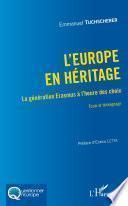 L'Europe en héritage