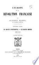 L'Europe et la révolution française: ptie. Le blocus continental