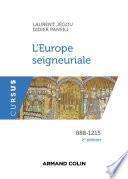 L'Europe seigneuriale - 2e éd.