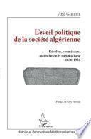 L'éveil politique de la société algérienne