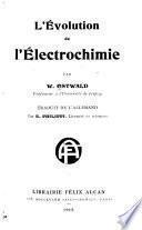 L'évolution de l'électrochimie