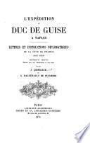 L'expédition du duc de Guise à Naples