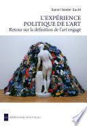 L'Expérience politique de l'art