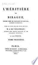 L'héritière de Birague, histoire tirée des manuscrits de dom Rago, ex-prieur de Bénédictins