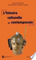 L'histoire culturelle du contemporain