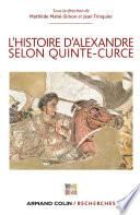 L'Histoire d'Alexandre selon Quinte-Curce