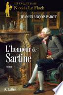 L'honneur de Sartine :