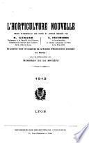 L'Horticulture nouvelle, revue bi-mensuelle des parcs et jardins