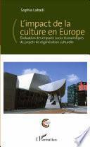 L'impact de la culture en Europe