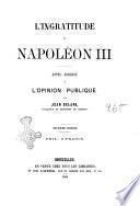 L'ingratitude de Napoléon III