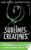 L'intégrale de la saga Sublimes Créatures - 16 Lunes