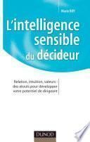 L'intelligence sensible du décideur