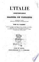 L 'Italie confortable manuel du touriste par M. Valery