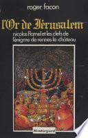 L'Or de Jérusalem
