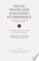 L'originalité du modèle français de développement économique