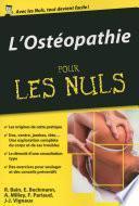 L'Ostéopathie pour les Nuls, édition poche