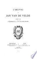 L'œuvre de Jan van de Velde