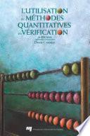 L'utilisation de méthodes quantitatives en vérification