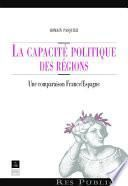 La capacité politique des régions