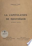 La capitulation de Montségur