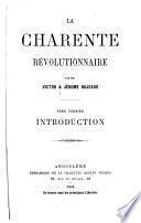 La Charente révolutionnaire