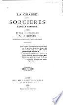 La chasse aux sorcières dans le Labourd (1609)