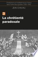La chrétiente paradoxale