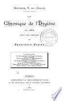 La chronique de l'hygiène 1883