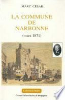 La Commune de Narbonne (mars 1871)