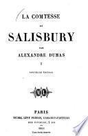 La comtesse de Salisbury