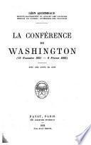 La conférence de Washington