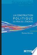 La construction politique du prix de l'énergie
